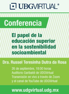 """Conferencia """"El papel de la educación superior en la sostenibilidad"""""""