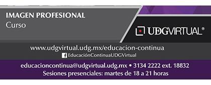 Cartel informativo sobre el Curso: Imagen Profesional
