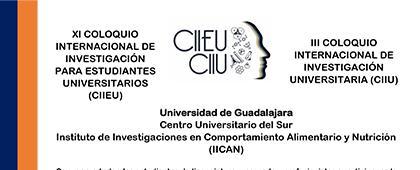 Cartel informativo del XI Coloquio Internacional de Investigación para Estudiantes Universitarios (CIIEU) y III Coloquio Internacional de Investigación Universitaria (CIIU) para profesionistas en su edición 2019 a desarrollarse el 4 de noviembre
