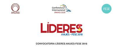 Cartel informativo sobre la Convocatoria: Líderes ANUIES-FESE 2018