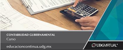 Cartel informativo sobre el Curso: Contabilidad gubernamental