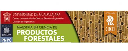 Cartel de la Maestría en Ciencia de Productos Forestales. Periodo de registro de trámites: Del 21 de mayo al 22 de junio