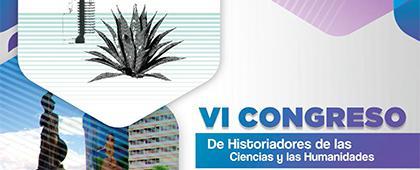 Cartel de VI Congreso de Historiadores de las Ciencias y las Humanidades