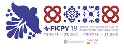 Cartel del evento con motivos graficos catalanes