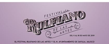 Cartel informativo sobre el Concurso de cortometrajes del VII Festival Rulfiano de las Artes, de Sayula a la eternidad,, del 11 al 18 de mayo de 2019.