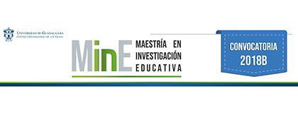 Cartel informativo sobre la convocatoria de la Maestría en Investigación Educativa