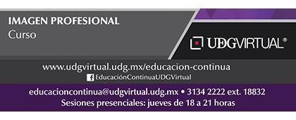 Cartel informativo sobre la convocatoria del Curso: Imagen Profesional