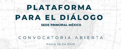 """Convocatoria: Financiamiento para organizar """"Plataformas para el diálogo"""" en la sede principal del CALAS en Guadalajara / México."""