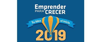 """Cartel informativo sobre las Jornadas de Emprendimiento e Innovación """"Emprender para crecer"""", el 13 y 14 de marzo,en el  CUAAD y CUCEA"""
