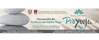 Cartel informativo sobre el Diplomado Proyoga