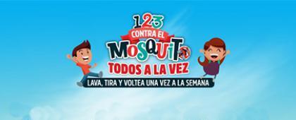 """Cartel informativo sobre la Estrategia Estatal para la Prevención de Dengue en Jalisco """"Todos somos brigadistas contra el mosquito"""""""
