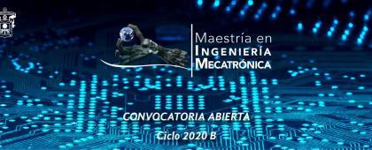 Identidad gráfica de la Maestría en Ingeniería Mecatrónica