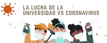 Apartado de información Covid-19 de la Universidad de Guadalajara