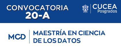 Maestría en Ciencia de los Datos. Sesiones informativas: 11, 18 y 25 de noviembre a las 17:00 horas.