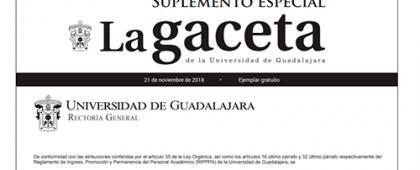 convocatoria publicada en La Gaceta