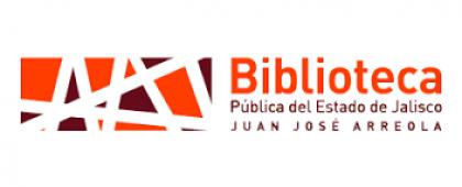 """Logotipo de la Biblioteca Pública del Estado de Jalisco """"Juan José Arreola"""". ¡Consulta las actividades culturales y académicas del mes de junio!"""