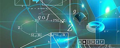 Identidad gráfica de la Maestría  en Ciencias Físico Matemáticas