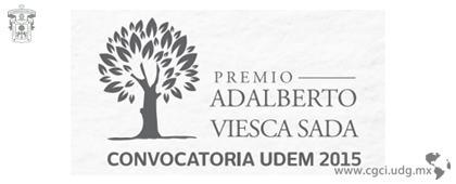 Premio Adalberto Viesca Sada 2015