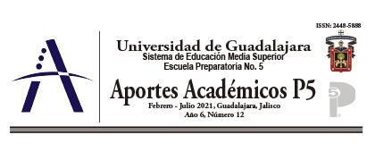 Revista: Aportes académicos P5