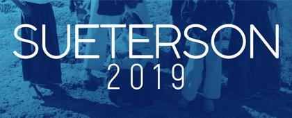 Identidad gráfica para anunciar el Sueterson 2019