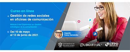 Curso en línea: Gestión de redes sociales en oficinas de comunicación