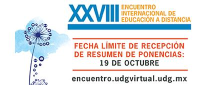 Participa con una ponencia en el XXVIII Encuentro Internacional de Educación a Distancia