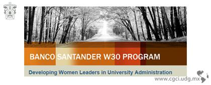 W30 Program: Developing Women Leaders in University Faculty and Administration
