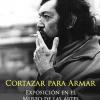 Retrato de Julio Cortazar fumando un cigarrillo