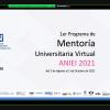 Inicia primer Programa de Mentoría Universitaria Virtual, de la Asociación Nacional de Instituciones de Educación en Informática y Computación