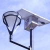 Cabeza de dispositivo instalado y equipado con sensores para medir la iluminación, consumo de energía, oxígeno, temperatura, humedad y ruido del centro unversitario.