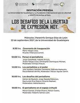 Foro: Los desafíos de la libertad de expresión, hoy