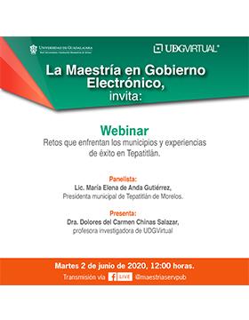 Webinar: Retos que enfrentan los municipios y experiencias de éxito en Tepatitlán